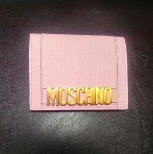 NWT Moschino Bi fold Wallet